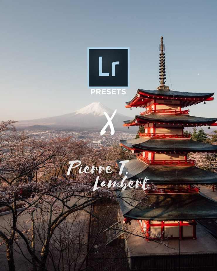 Pierretlambert lightroom master preset pack fuji - 001 4x5