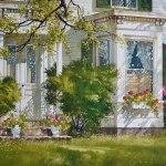 American beauty (Aquarelle 21 x 29 po / 53 x 74 cm)