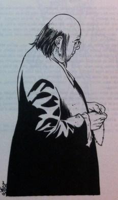 un prêtre d'un village