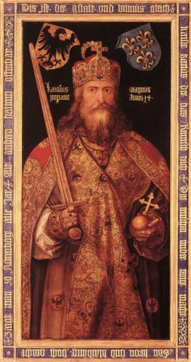 Charlemagne selon Albrecht Dürer, XVIe siècle
