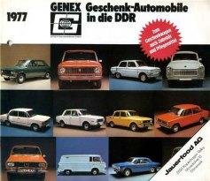 Genex Auto 1977 Cover