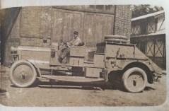 Le tracteur du treuil