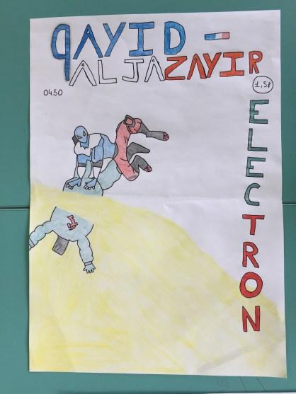 Un super-héros algérien défait le super-méchant russe Electron