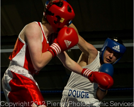 Charity boxing event at Rossi's in North Walsham
