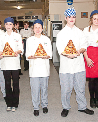 Chefs at Cromer Academy