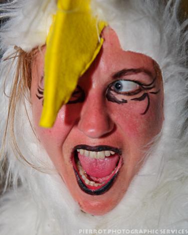 Cromer carnival fancy dress bald eagle