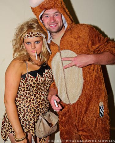 Cromer carnival fancy dress cavewoman
