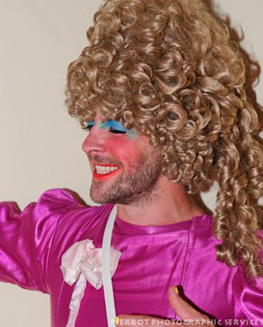 Cromer carnival fancy dress drag queen