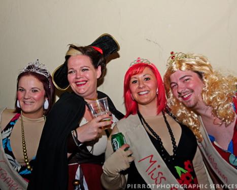 Cromer carnival fancy dress four smiling girls
