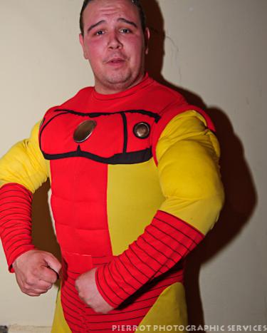 Cromer carnival fancy dress superman
