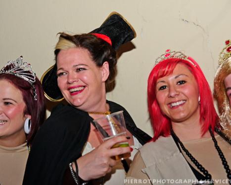 Cromer carnival fancy dress two smiling girls