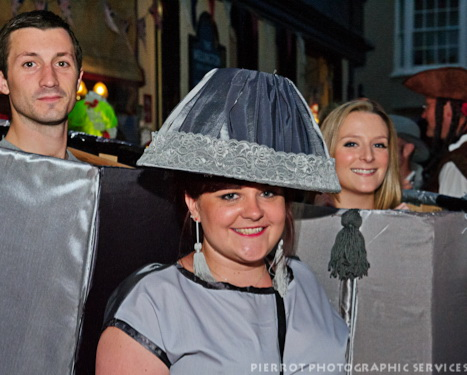 Cromer carnival fancy dress 50 shades of grey