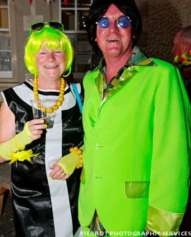 Cromer carnival fancy dress extremely gaudy outfits