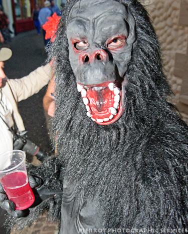 Cromer carnival fancy dress gorilla