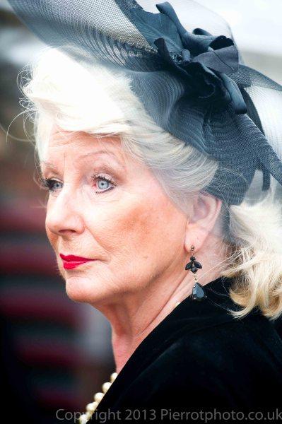 Fantastically elegant woman