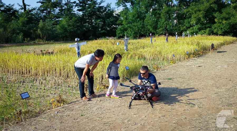 """Tournage drone à Séoul, Corée, pour France 5 """"Echo Logis"""""""