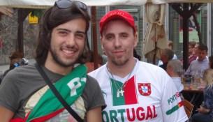 Tiago Felix und Francisco José