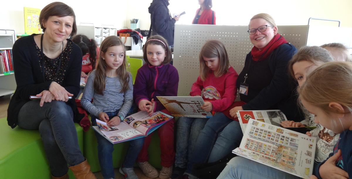 144. Grundschule Bibliothek Leselotsen
