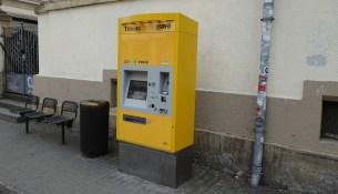 Fahrscheinautomat Trachenberger Platz