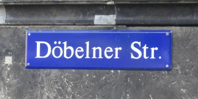 Döbelner Straße fussweg