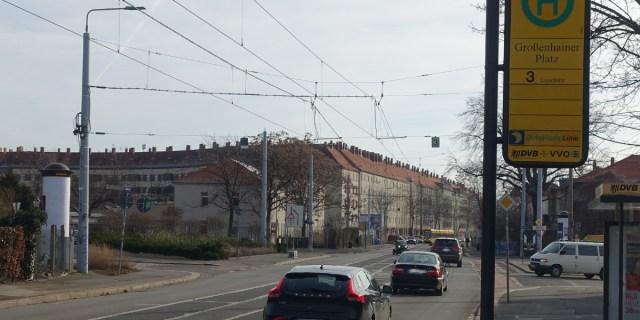 Großenhainer Platz Ampel