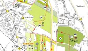 """Kleingartenwandertag im Kleingartenpark """"Hansastraße"""""""
