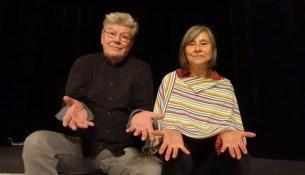 Puppenspieler mit Leib und Seele: Randi und Grigorij Kästner-Kubsch. Foto: W. Schenk