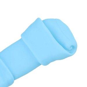 Zabawka gryzak dla psa – kość niebieska
