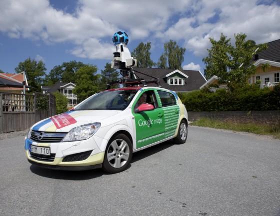 Googlen kuvausauto on Opel