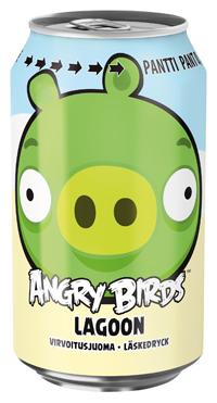 Angry Birds -possut saivat oman virvoitusjuomat
