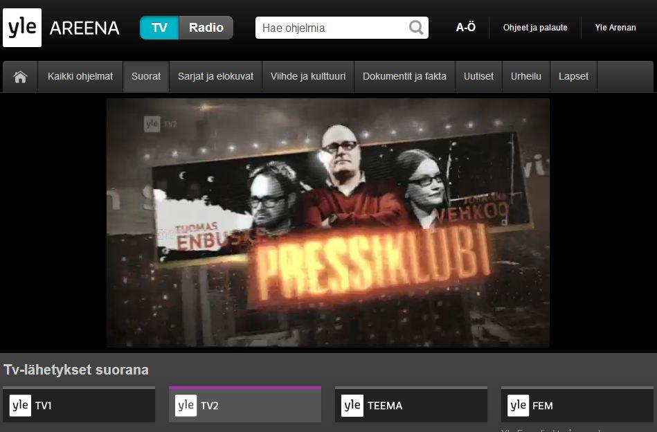 Tv-Kanavat Netissä
