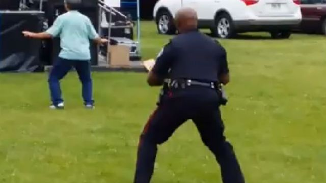 dancing-police-officer
