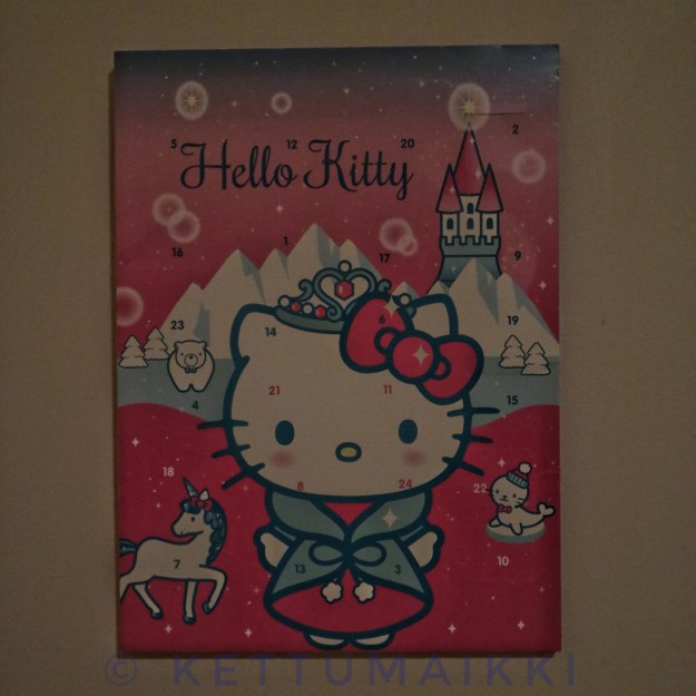 Maijun joulukalenteri.