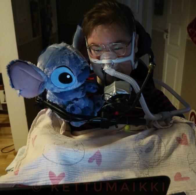 Stitch on uusi kaverini.