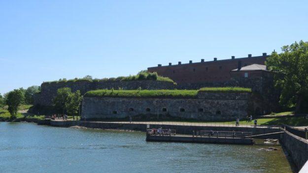 Susisaaren muurit.
