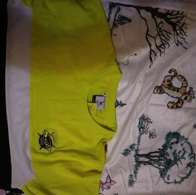 SaiPa paita ja Disney viltti.