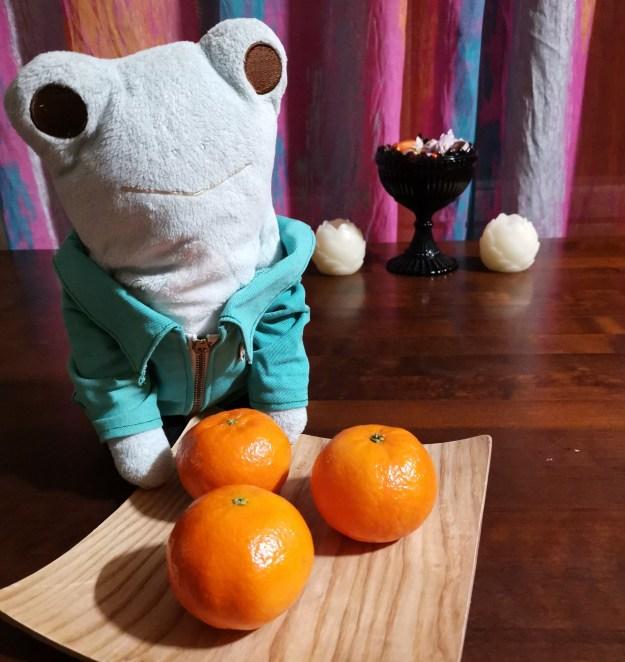 Topi suosittelee syömään hedelmiä ja flunssa pysyy poissa.