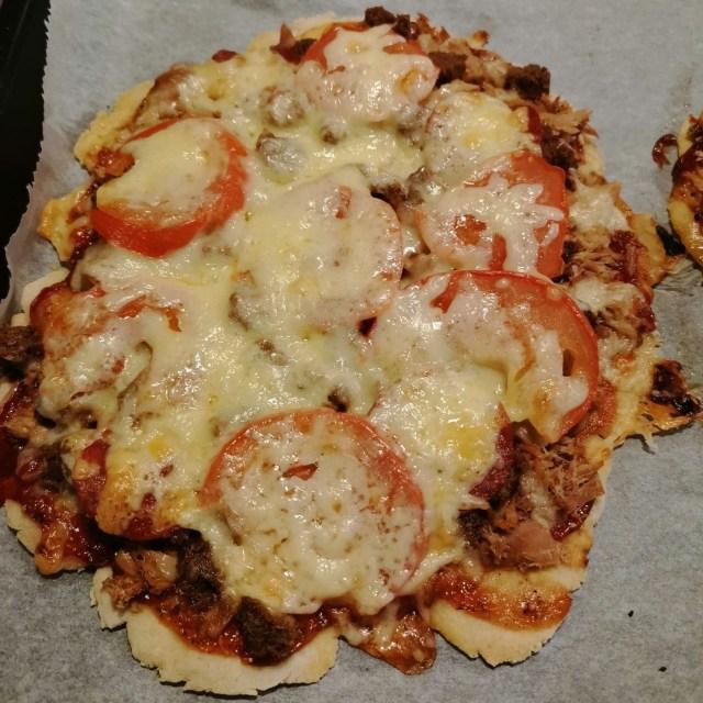 Se on pizzaa.