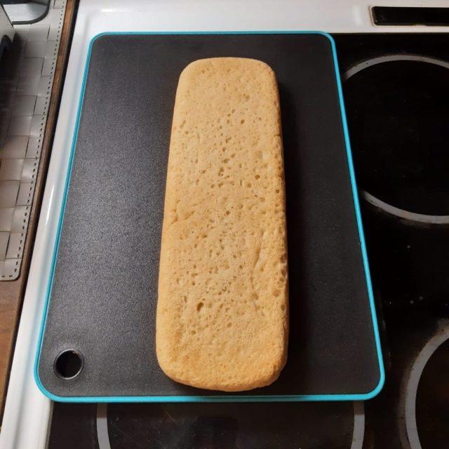 Ciabatta-leipä oli todella hyvää.