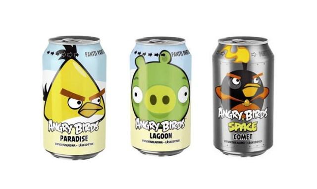Angry Birds limsa tölkit.