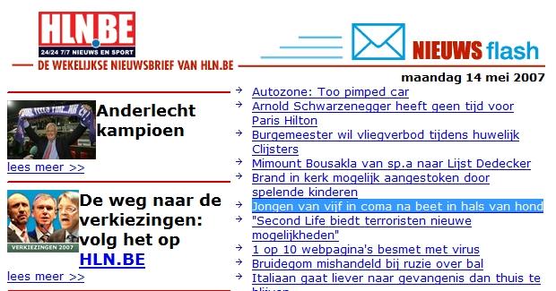 Pieter.org 20070514 hln
