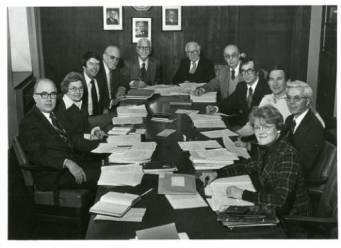 Glen Wiberg, Jim Hawkinson, and the Covenant Hymnal committee