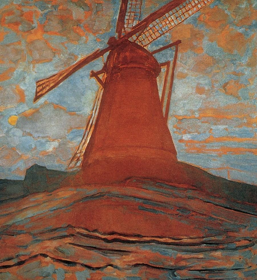 Mondrian Big Paintings Piet