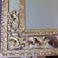 intaglio ricostruito ricollocato e dorato