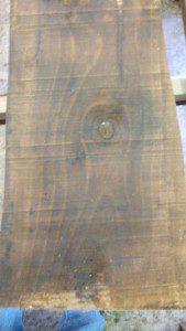tavola di legno massello di castagno