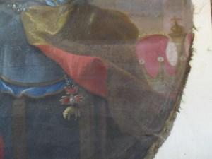 carta del restauro, oio su tela