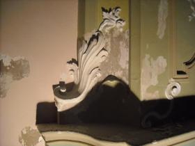 materiali lapidei, stucco.
