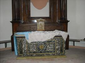 ancona ligne, restauro di affreschi.