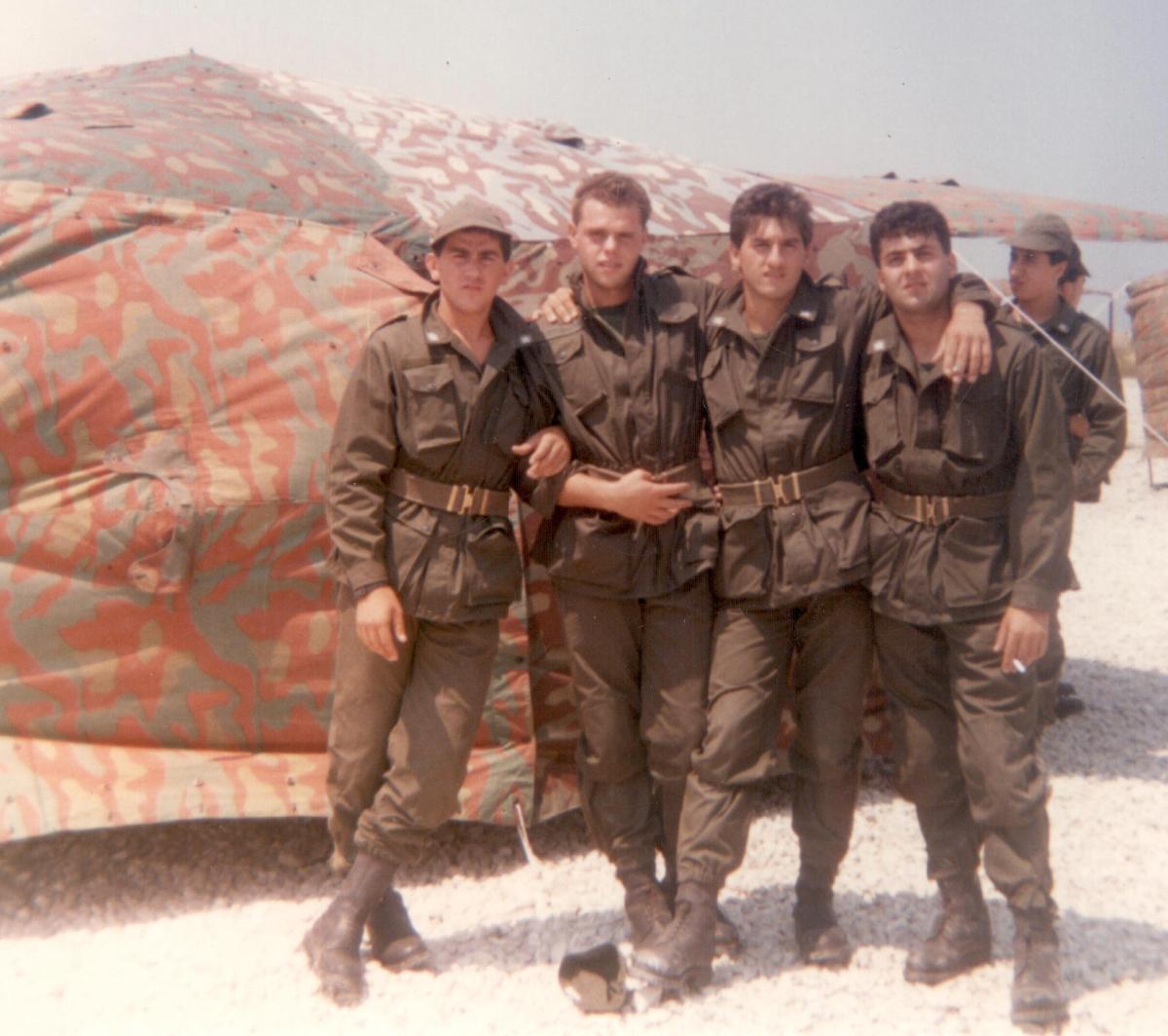 Foto da soldato