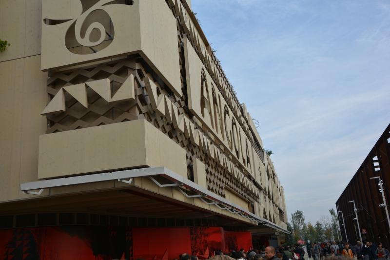La mia giornata expo 2015 padiglione angola
